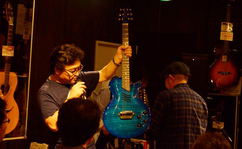 MD-SE01/N(エレキギター弦が張られたもの)